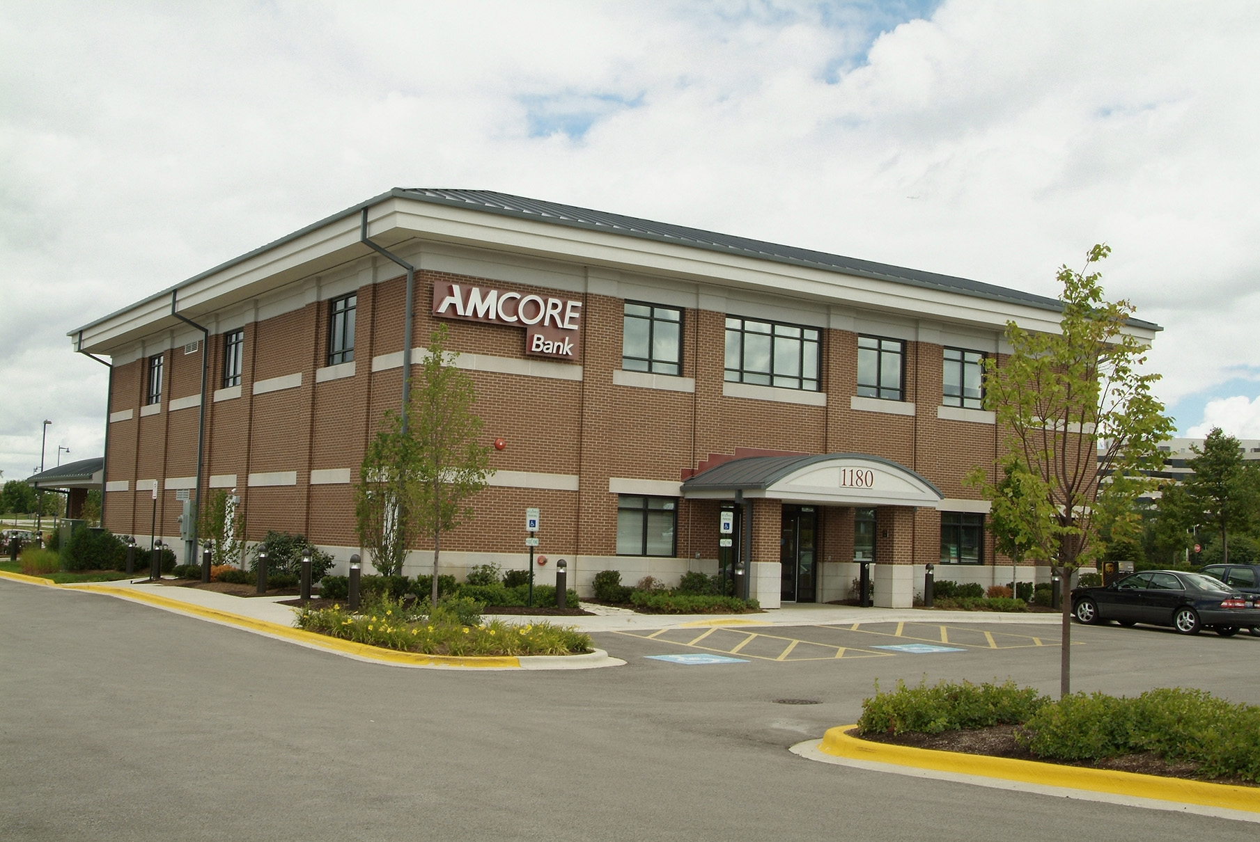 Amcore Bank Schaumbrug by Rockford Structures Commercial Construction Rockford, Illinois