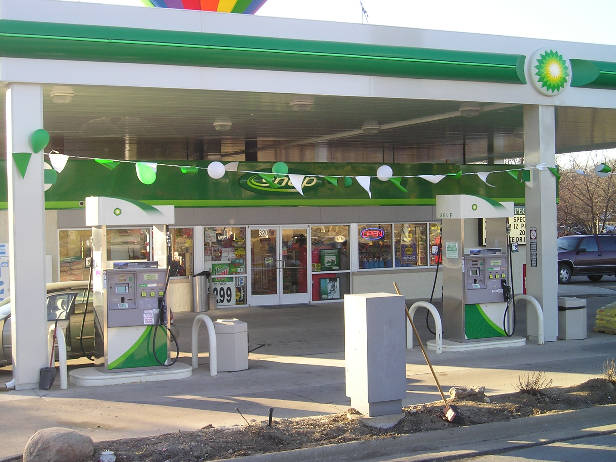 Commercial - BP Gas Rockford Illinois