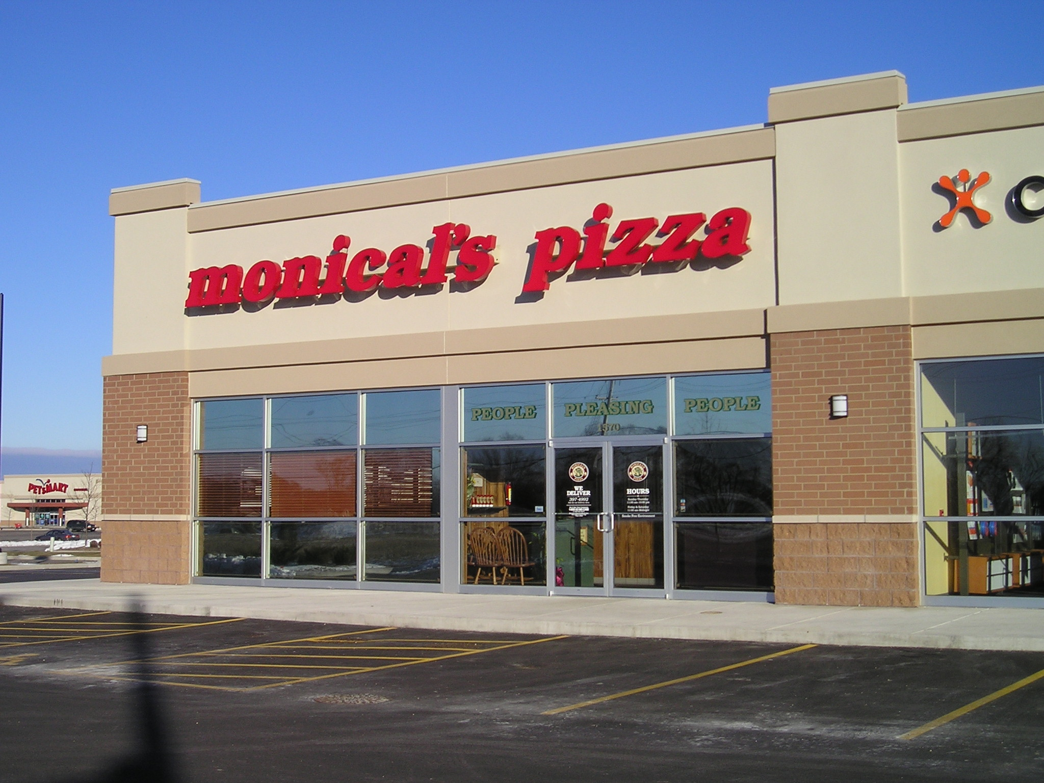 Restaurant - Monical's Pizza, Machesney Park, IL